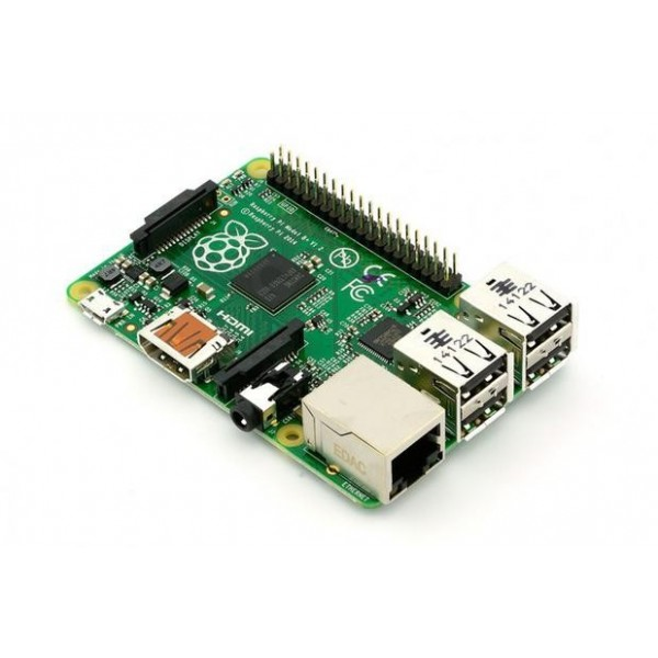 رسپری پای مدل بی پلاس Rev 2.0 Raspberry Pi Model B+ رزبریmade in uk