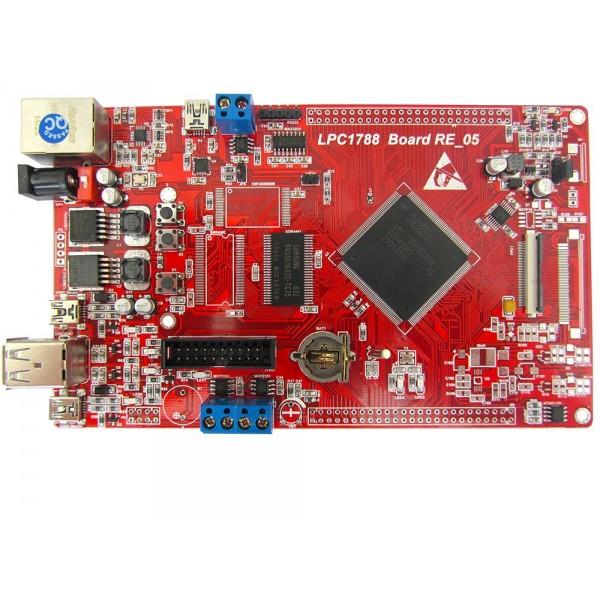 برد کاربردی وحرفه ای LPC1788 با ساپورت tft 3.6 تا 7.0 اینچ 40 پین/ و emwin پورت شده